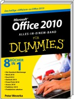 Microsoft Office 2010 f�r Dummies - Alles-in-einem-Band, Best.Nr. WL-70614, € 29,95