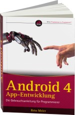 Android 4 App-Entwicklung, Best.Nr. WR-76042, € 52,00