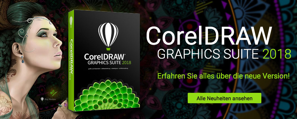 CorelDRAW Graphics Suite 2018 - Die professionelle Grafik-Software für Bildbearbeitung, Illustration, Seitenlayout, Webdesign
