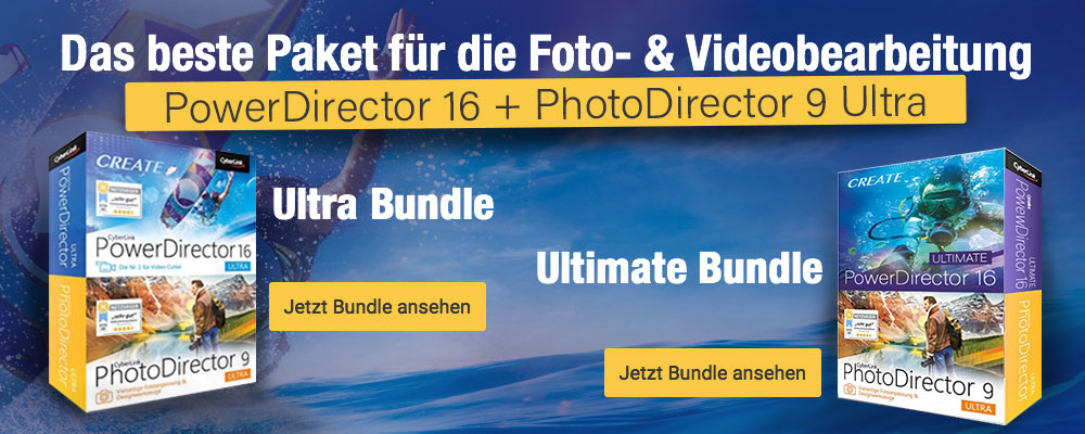PhotoDirector 9 & PowerDirector 16 Ultra / Ultimate Duo