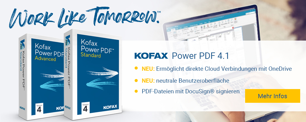 Kofax Power PDF 4 Standard