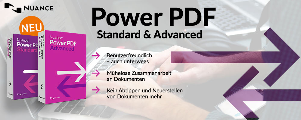 Power PDF Standard & Advanced – Jetzt Version 2 im Nuance-Shop by edv-buchversand.de bestellen
