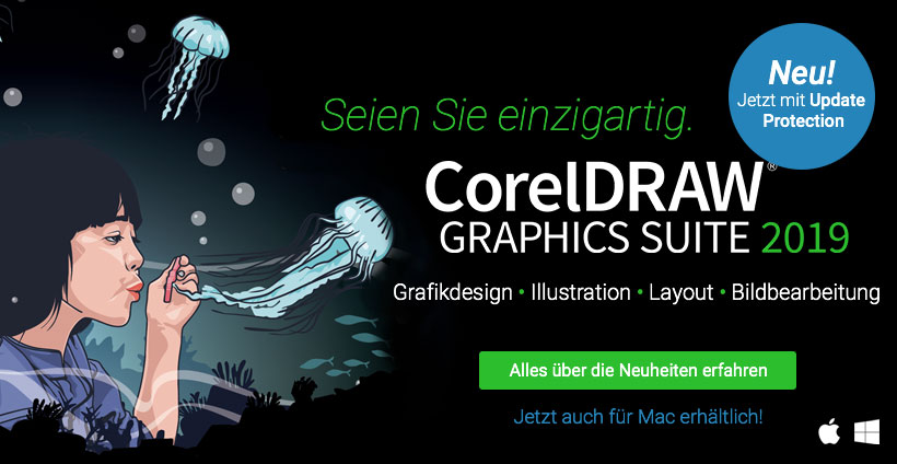 CorelDRAW Graphics Suite 2019 – Die professionelle Grafik-Software für Bildbearbeitung, Illustration, Seitenlayout, Webdesign