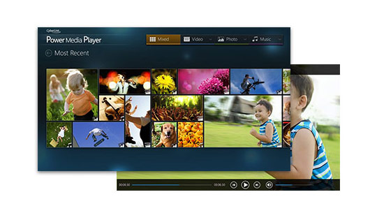 Power Media Player f�r Android, iOS und Windows 10