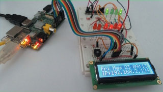 Das LC-Display im Maker Kit