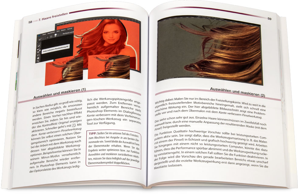 Buch: Freistellen in Photoshop und Photoshop Elements
