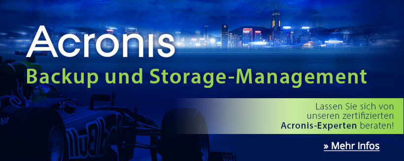 Acronis Backup und Storage-Management