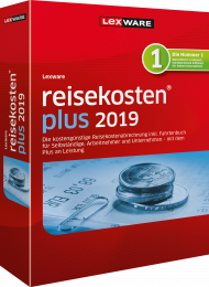 Lexware reisekosten plus 2019 (Download), ISBN: , Best.Nr. LXO1208, erschienen 11/2018, € 223,40