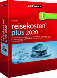 Lexware reisekosten plus 2020 Jahresversion (Download), EAN: 9783648128985, Best.Nr. LXO1225, erschienen 11/2019, € 219,95