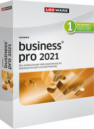 Lexware business pro 2021 Jahresversion (Download), EAN: 9783648143391, Best.Nr. LXO1248, erschienen 12/2020, € 839,00