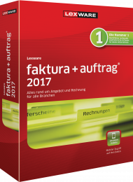 Lexware faktura+auftrag 2017 (Download), Best.Nr. LXO3052, € 129,00