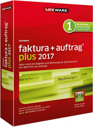 Lexware faktura+auftrag plus 2017 (Download), Best.Nr. LXO3053, € 189,00