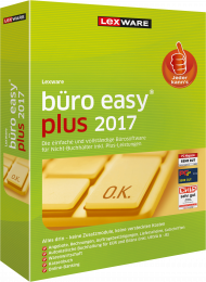 Lexware büro easy plus 2017 (Download), Best.Nr. LXO4153, € 219,00
