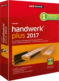 Lexware handwerk plus 2017 (Download), Best.Nr. LXO4161, € 239,00