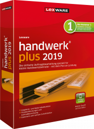 Lexware handwerk plus 2019 (Download), ISBN: , Best.Nr. LXO4176, erschienen 12/2018, € 267,40