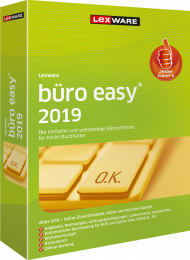 Lexware büro easy 2019 (Download), ISBN: , Best.Nr. LXO4179, erschienen 12/2018, € 137,80