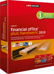 Lexware financial office plus handwerk 2019 (Download), ISBN: , Best.Nr. LXO4183, erschienen 12/2018, € 537,40