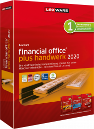 Lexware financial office plus handwerk 2020 Jahresversion (ESD), EAN: 9783648115114, Best.Nr. LXO4189, erschienen 11/2019, € 549,95