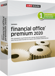 Lexware financial office premium 2020 Jahresversion (Download), ISBN: , Best.Nr. LXO4191, erschienen 11/2019, € 1.199,00