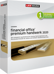 Lexware financial office premium handwerk 2020 Jahresversion ESD, EAN: 9783648126219, Best.Nr. LXO4192, erschienen 11/2019, € 1.199,00