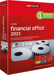 Lexware financial office 2021 Jahresversion (Download), EAN: 9783648144817, Best.Nr. LXO4196, erschienen 11/2020, € 449,00