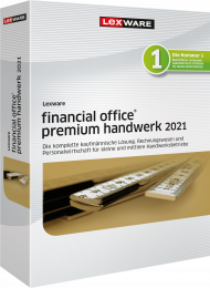 Lexware financial office premium handwerk 2021 Jahresversion ESD, EAN: 9783648144947, Best.Nr. LXO4201, erschienen 12/2020, € 1.349,00