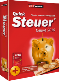 QuickSteuer Deluxe 2016 (Download), Best.Nr. LXO5038, € 29,95