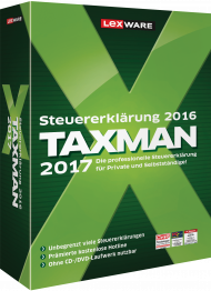 TAXMAN 2017 (Download), ISBN: , Best.Nr. LXO5040, erschienen 11/2016, € 29,90