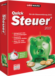 QuickSteuer 2017 (Download), ISBN: , Best.Nr. LXO5041, erschienen 11/2016, € 14,95