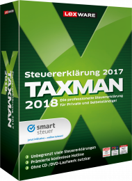 TAXMAN 2018 (Download), ISBN: , Best.Nr. LXO5046, erschienen 11/2017, € 29,95