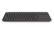 Logitech Wireless Touch Keyboard K400 Plus schwarz, Best.Nr. LO-007127, erschienen 10/2015, € 42,95