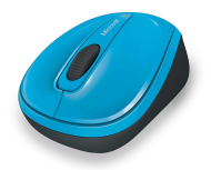 MS Wireless Mobile Mouse 3500 blau (GMF-00271), Best.Nr. MZ-2025, € 22,95