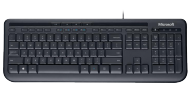 MS Wired Keyboard 600 schwarz (ANB-00008), Best.Nr. MZ-2046, € 13,95