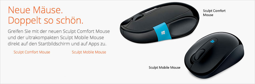 MS Sculpt Comfort Mouse (H3S-00001) + MS Wireless Mobile Mouse 1000 (2CF-00003)