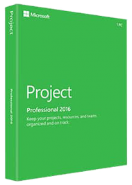 Microsoft Project Professional 2016 - Key Card, Best.Nr. SO-3172, € 1.229,00