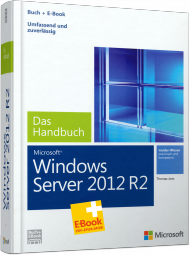 Microsoft Windows Server 2012 R2 - Das Handbuch, Best.Nr. MS-5179, € 59,00