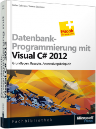 Datenbank-Programmierung mit Visual C# 2012, Best.Nr. MS-5466, € 49,90