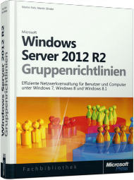 Windows Server 2012 R2-Gruppenrichtlinien, Best.Nr. MS-5695, € 59,00