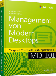 Management von Modern Desktops, ISBN: 978-3-86490-719-7, Best.Nr. MS-719, erschienen 02/2020, € 54,90