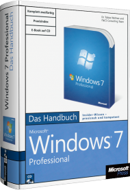 Microsoft Windows 7 Professional - Das Handbuch, Best.Nr. MSE-5129, erschienen 10/2009, € 19,90