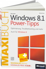 Microsoft Windows 8.1 Power-Tipps - Das Maxibuch, Best.Nr. MSE-5236, erschienen , € 15,90