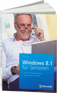 Microsoft Windows 8.1 für Senioren, ISBN: 978-3-84833-096-6, Best.Nr. MSE-5238, erschienen 01/2014, € 14,30