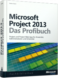 Microsoft Project 2013 - Das Profibuch, Best.Nr. MSE-5488, € 39,90