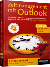 Zeitmanagement mit Microsoft Office Outlook, Best.Nr. MSE-5835, erschienen 04/2013, € 15,90