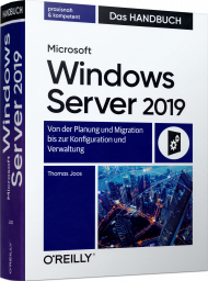 Microsoft Windows Server 2019 - Das Handbuch, ISBN: 978-3-96009-100-4, Best.Nr. OR-100, erschienen 05/2019, € 59,90