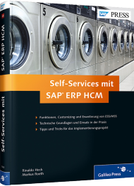 Self-Services mit SAP ERP HCM, ISBN: 978-3-8362-1805-4, Best.Nr. GP-1805, erschienen 05/2014, € 69,90