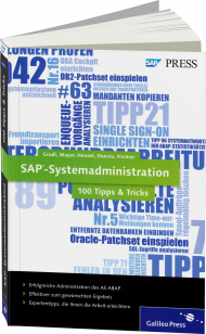SAP-Systemadministration - 100 Tipps & Tricks, ISBN: 978-3-8362-1969-3, Best.Nr. GP-1969, erschienen 01/2013, € 49,90