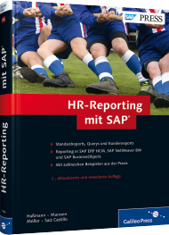 HR-Reporting mit SAP, ISBN: 978-3-8362-1986-0, Best.Nr. GP-1986, erschienen 08/2013, € 69,90