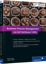 Business Process Management mit SAP NetWeaver BPM, ISBN: 978-3-8362-2604-2, Best.Nr. GP-2604, erschienen 03/2014, € 69,90