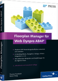 Floorplan Manager für Web Dynpro ABAP, Best.Nr. GP-2786, € 79,90